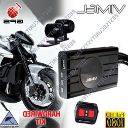 Motorbike Camera Vimel GPS Motorcycle Dual Twin Car  Hardwir