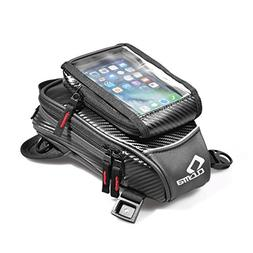 FHGJ Motorbike Magnetic Tank Bag GPS/Phone Motorcycle Travel
