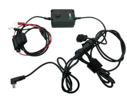 Motorcycle Battery Hard Wire Charging Cable for Garmin Nuvi