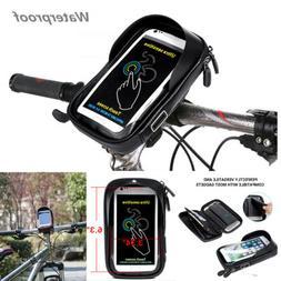 Motorcycle Bike Handlebar Holder Mount Bag Case For Mobile P