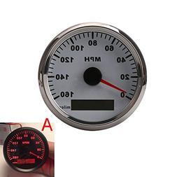 Motorcycle GPS 12V 24V Universal MPH Speedometer Gauge Odome