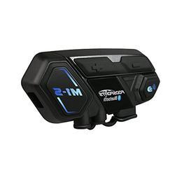 Fodsports Motorcycle Bluetooth Intercom, M1S 2000m 8 Riders