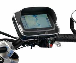 "Motorcycle Mount Kit + Water Resistant Visor Case for 5-6"" G"