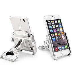 ILM Bike Motorcycle Phone Mount Aluminum Bicycle Cell Phone