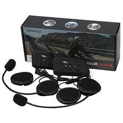 VNETPHONE Motorcycle V6 Intercom / Headset Compatible with B