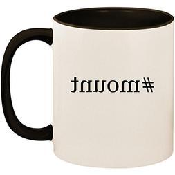 #mount - 11oz Ceramic Colored Inside and Handle Coffee Mug C