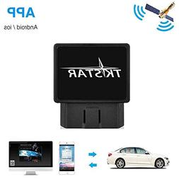 Tkstar OBD Car GPS Tracker,Real Time Tracking Device Teen Dr