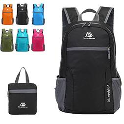 Weikani Packable Daypack,25L Lightweight foldable Backpack b