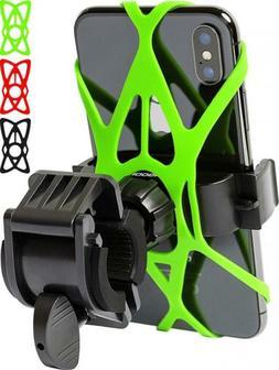 Bike Phone Mount for Any Smart Phone: iPhone X 8 7 6 5 Plus