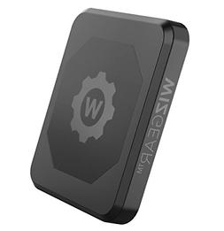 WizGear Rectangle Flat Stick On Dashboard Magnetic Car Mount