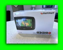 TomTom Rider 550 Motorcycle GPS Built-in Wi-Fi Free Lifetime
