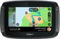 "TomTom Rider 550 Motorcycle GPS Navigation Device 4.3"" Motor"
