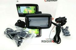 TomTom Rider 550 Motorcycle GPS Navigation Device, 4.3 Inch,