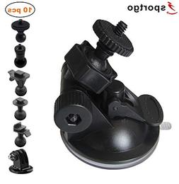 iSportgo S30 Dash Cam Suction Mount with 5 Different Joints