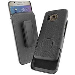 Samsung Galaxy S7  Belt Case & Holster Clip w/KickstandEncas