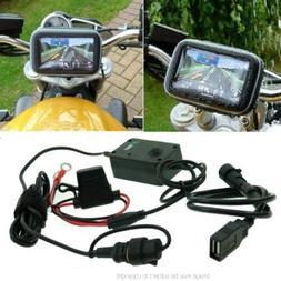 BuyBits Addons Standard SatNav GPS Powered Motorcycle Mount