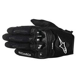 Alpinestars SMX-1 Air Mens Motorcycle Gloves - Black - Mediu