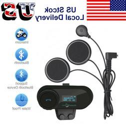 T-COMSC Motorcycle Helmet Bluetooth Headset Intercom Interph