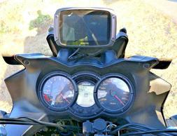 TOMTOM  RIDER GPS MOUNT. V-STROM MOTORCYCLE OVER DASH GPS,PL