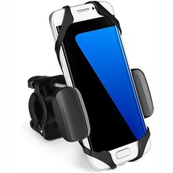 Flexzion Universal Bike Phone Mount Holder Adjustable - Hand
