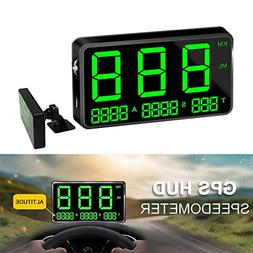 Universal Digital Car GPS HUD Heads Up Display Speedometer w