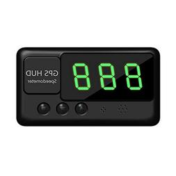 TIMPROVE Universal Digital Car HUD Head Up Display GPS Speed
