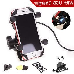 Goodway Universal Motorcycle Cell Phone Mount Holder Waterpr