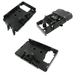 USB Charging Mobile Phone Navigation Bracket Holder Black Mo