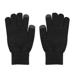 Warm Knitted Touchscreen Gloves Winter Wool Lined Texting Gl