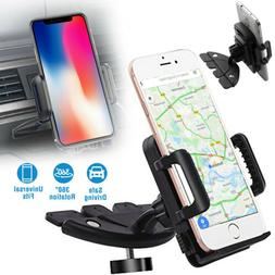 CD Slot Car Phone Holder Universal Cell Phone Car Mount for