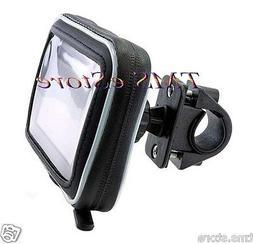 Waterproof Case & Motorcycle Handlebar Mount for Garmin nuvi
