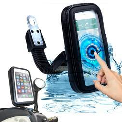 WATERPROOF CELL PHONE HOLDER Motorcycle Bike Handlebar GPS B