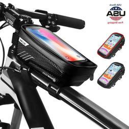 Waterproof Front Frame Cycling Bicycle Top Tube Bike Bag GPS