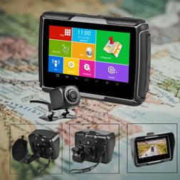Waterproof GPS Navigation Touch Screen Motorcycle Car Naviga