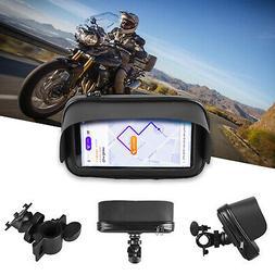waterproof motorcycle bicycle cell phone gps holder