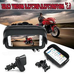 Waterproof Motorcycle Bicycle Cell Phone/GPS Holder Case Bag