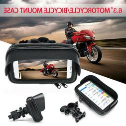 Waterproof Motorcycle Bike Handlebar Cell Phone GPS Holder C