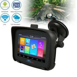 "5"" Android 6.0 Motorcycle GPS Navigator 16GB SAT NAV Car BT"