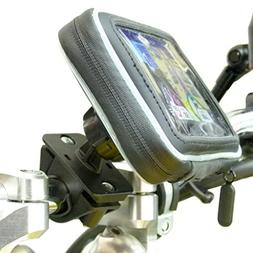 Waterproof Motorcycle Handlebar Mount for Garmin Nuvi 2519 2