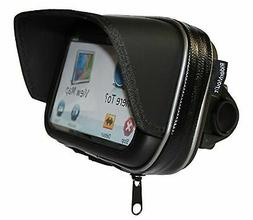 "RiderMount Waterproof Sunshade 5"" GPS Satnav Case with Motor"