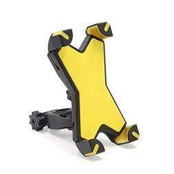 uxcell Yellow Black Adjustable Motorcycle Scooter Handlebar