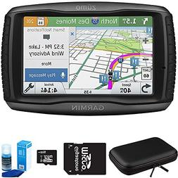 Garmin Zumo 595LM Motorcycle GPS Navigator Bundle includes G